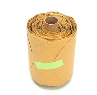 3M™ Stikit™ Gold Paper Disc Roll 216U, 5 in. x NH P120 Grit, 125 Discs (1 Roll)