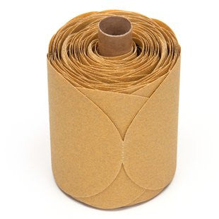 3M™ Stikit™ Gold Paper Disc Roll 216U, 5 in. x NH P80 Grit, 125 Discs (1 Roll)