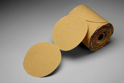 3M™ Stikit™ Gold Paper Disc Roll 216U, 5 in x NH P240 Grit, 175 pk.
