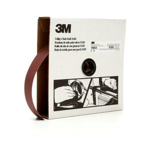 3M™ Utility Cloth Roll 314D, 1-1/2 in. x 50 yd. P280 Grit, 5 pk.
