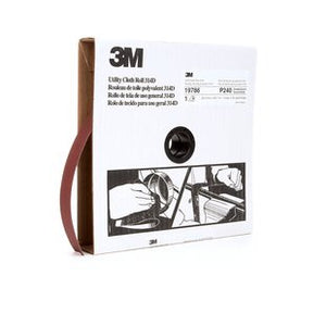 3M™ Utility Cloth Roll 314D, 1 in. x 50 yd. P240 Grit, 5 pk.