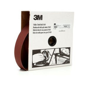 3M™ Utility Cloth Roll 314D, 2 in. x 50 yd. P150 Grit, 5 pk.