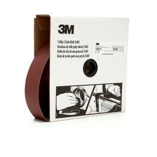 3M™ Utility Cloth Roll 314D, 2 in. x 50 yd. P240 Grit, 5 pk.