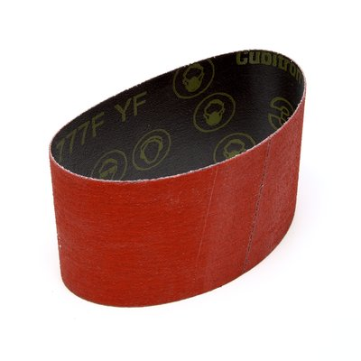 3M™ Cubitron™ 777F Ceramic Coated 3-1/2 in. x 15-1/2 in. Sanding Belt, 120 Grit