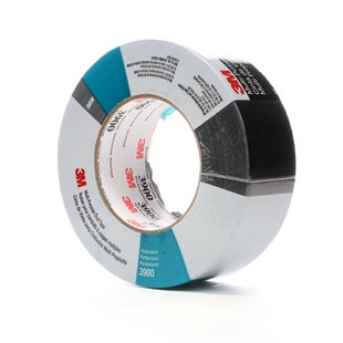 3M™ Duct Tape 3900 Black, 48 mm x 54.8 m