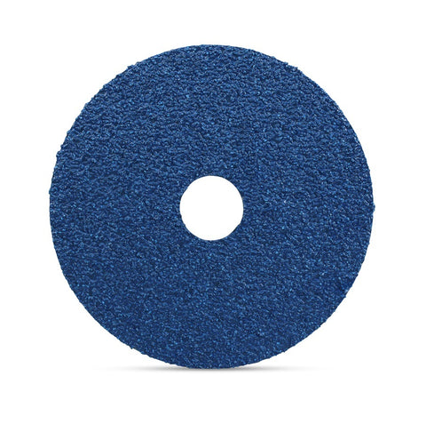 "Mercer 5"" x 7/8"" Zirconia, Resin Fibre Disc, 80 Grit, 25 pk."