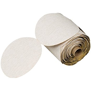 3M™ NX PSA Paper Disc Roll, 5 in. x NH P320 Grit, 100 Discs (1 Roll)