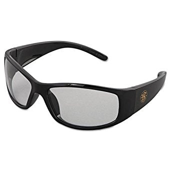 Smith & Wesson Elite Safety Glasses with Black Frame and Smoke Anti-Fog Lens