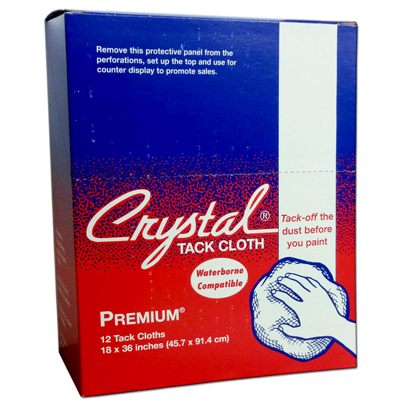Bond Crystal Premium Tack Cloth, 18 in. x 36 in. 12 pk.