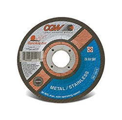 CGW Quickie Cut-Off Wheel, Type 27, 60 Grit, 4 1/2 in. 10 pk.Liquid error (product-grid-item line 33): comparison of String with 0 failed