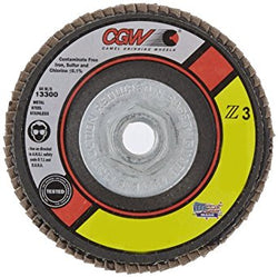 CGW Z3 XL Disc, Type 29, 36 Grit, 4 1/2 in. x 7/8 in. 5 pk.Liquid error (product-grid-item line 33): comparison of String with 0 failed