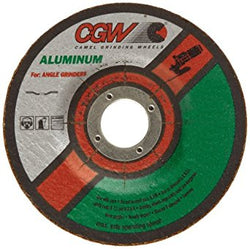 CGW Premium Aluminum Oxide Wheel, Type 27, 30 Grit, 4 1/2 in. 5 pk.Liquid error (product-grid-item line 33): comparison of String with 0 failed