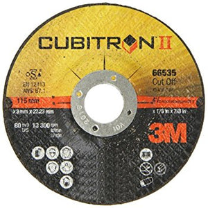 3M™ General Purpose Depressed Center Wheel, 4-1/2 in. x 1/4 in. x 7/8 in. 24 Grit, 10 pk.