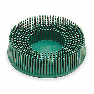 3M™ Scotch-Brite™ Roloc™ Bristle Disc, 3 in. x 5/8 tapered, 50 Grit