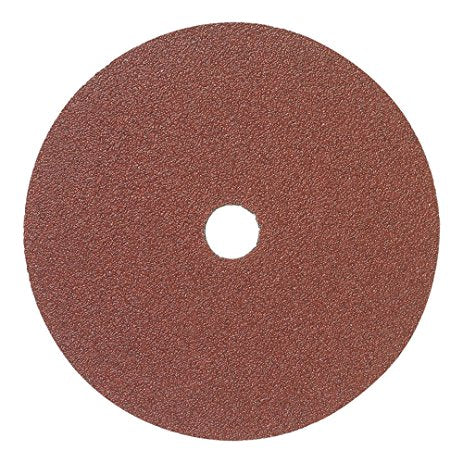 "Mercer 4-1/2"" x 7/8"" Resin Fibre Disc, 24 Grit, 25 pk."