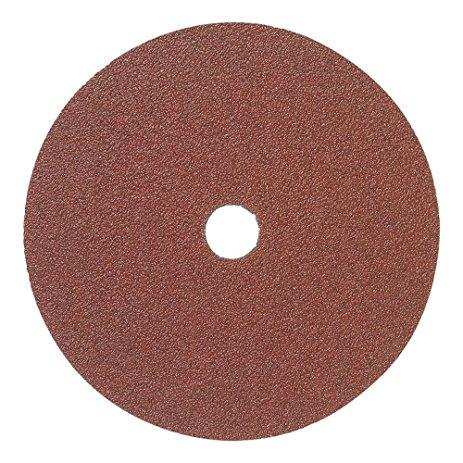 "Mercer 4-1/2"" x 7/8"" Resin Fibre Disc, 50 Grit, 25 pk."