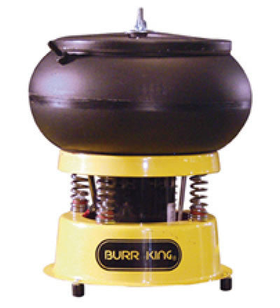 Burr King 110 3 qt. Vibratory Bowl