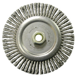 "Weiler Roughneck Max Stringer Bead Wheels- 4"" Stringer Bead Brush (Carbon)Liquid error (product-grid-item line 33): comparison of String with 0 failed"
