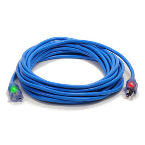 Century Wire Pro Glo 50 ft. Extension Cord (Blue)