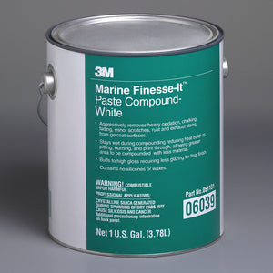3M™ Finesse-It™ Marine Paste Compound, White, 1 Gallon