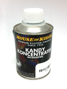 House of Kolor Kandy Koncentrates Intensifier, Apple Red Candy, 8 oz.