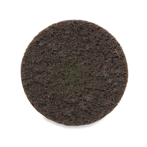 "Merit 2"" Quick Change Disc, Aluminum Oxide, Turn-On/Off, 50 Grit, Coarse, Non-Woven, 50 pk."