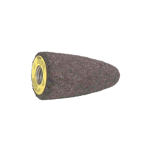"Norton 1-1/2"" Grinding Cone, 3"" Thickness, Aluminum Oxide, 24 Grit, 5/8""-11 Arbor Size, 10 pk.Liquid error (line 13): comparison of String with 0 failed"