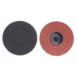 "Norton 1-1/2"" Quick Change Disc, Aluminum Oxide, TR, 50 Grit, Coarse, Coated, 100 pk.Liquid error (product-grid-item line 33): comparison of String with 0 failed"