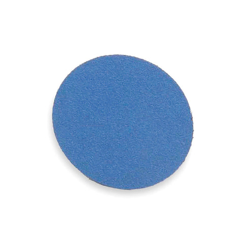 "Norton 1-1/2"" Quick Change Disc, Zirconia Alumina, TR, 80 Grit, Medium, Coated, BlueFire, 100 pk."