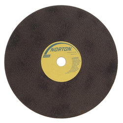 "Norton 12"" Type 1 Aluminum Oxide Straight Grinding Wheel, 1"" Arbor, 1/16"" Thick, 60 Grit, 50 pk.Liquid error (product-grid-item line 33): comparison of String with 0 failed"