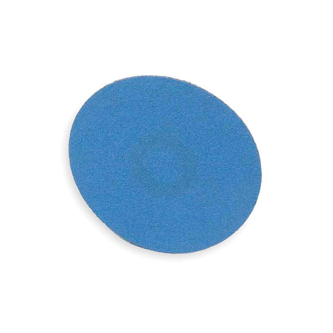"Norton 1"" Quick Change Disc, Zirconia Alumina, Turn-On/Off, 80 Grit, Medium, Coated, BlueFire, 100 pk."