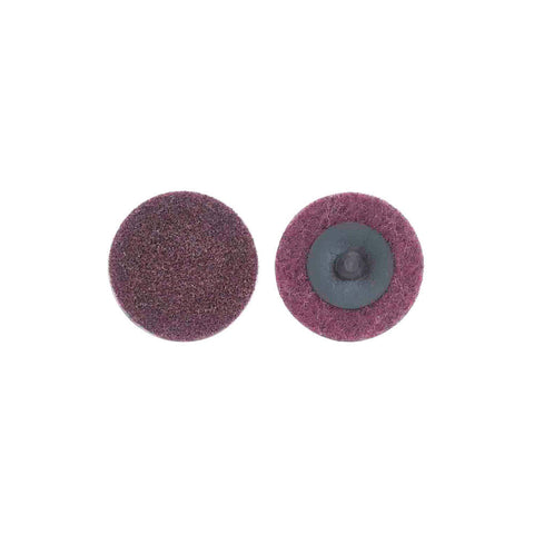 "Norton 2"" Quick Change Disc, Aluminum Oxide, TR, Medium, Non-Woven, 50 pk."