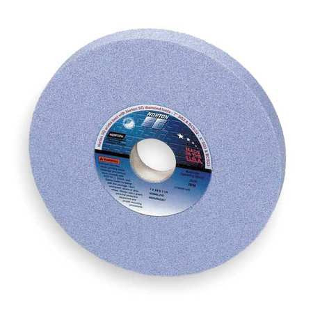 "Norton 4"" Type 11 Ceramic Flaring Cup Grinding Wheel, 1-1/4"" Arbor, 1-1/2"" Thick, 60 Grit"