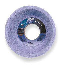 "Norton 4"" Type 11 Ceramic Flaring Cup Grinding Wheel, 1-1/4"" Arbor, 1-1/2"" Thick, 60 GritLiquid error (product-grid-item line 33): comparison of String with 0 failed"