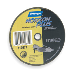 "Norton 4"" Type 1 Ceramic Abrasive Cut-Off Wheel, 3/8"" Arbor, 1/16""-Thick, 25 pk.Liquid error (product-grid-item line 33): comparison of String with 0 failed"