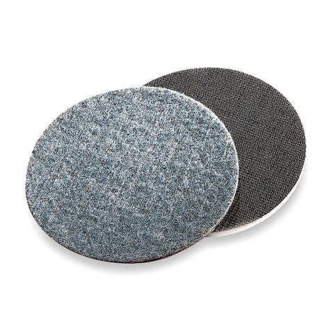 "Norton 5"" Hook-and-Loop Sanding Disc, Aluminum Oxide, 120 Grit, Fine, Non-Woven, Rapid Prep, 25 pk."