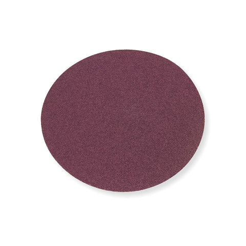 "Norton 6"" PSA Sanding Disc, 60 Grit, Medium, Coated, No Hole, Aluminum Oxide, R228, 50 pk."