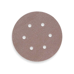 "Norton 6"" PSA Sanding Disc Roll, Aluminum Oxide, 100 Grit, Fine, 6 Hole, Coated, A275, 100 Disc RollLiquid error (product-grid-item line 33): comparison of String with 0 failed"