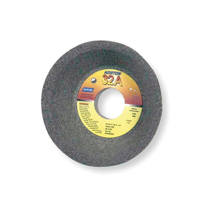 "Norton 6"" Type 11 Aluminum Oxide Flaring Cup Grinding Wheel, 1-1/4"" Arbor, 2"" Thick, 60 Grit, K"