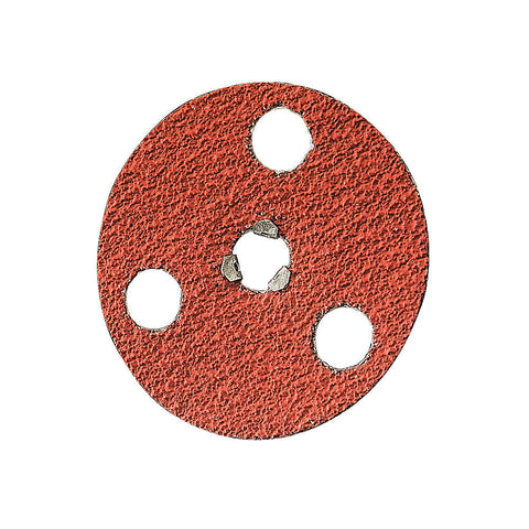 "Norton 7"" Quick Change Disc, Ceramic, Turn-On/Off, 24 Grit, Extra Coarse, Coated, F980, 10 pk."