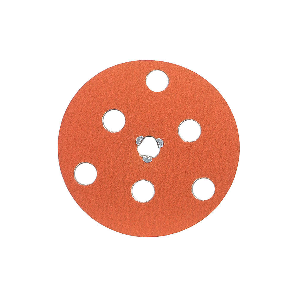"Norton 7"" Quick Change Disc, Ceramic, Turn-On/Off, 60 Grit, Medium, Coated, F980, 10 pk."