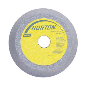 "Norton 7"" Type 11 Aluminum Oxide Flaring Cup Grinding Wheel, 1-1/4"" Arbor, 2"" Thick, 46 Grit, J"
