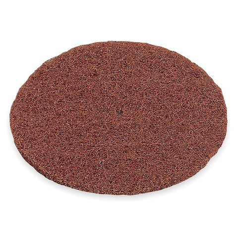"Norton 8"" Fiber Disc, Aluminum Oxide, 100-150 Grit, 1/2"", Non-Woven, High Strength, 50 pk."