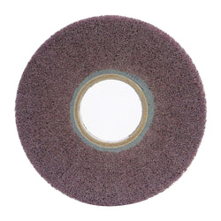 "Norton 8"" Unmounted Flap Wheel, 1"" Width, 3"" Arbor Size, Non-Woven, Aluminum Oxide, 180 Grit, Very Fine, 3 pk.Liquid error (product-grid-item line 33): comparison of String with 0 failed"