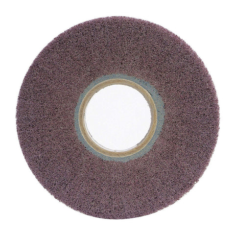 "Norton 8"" Unmounted Flap Wheel, 1"" Width, 3"" Arbor Size, Non-Woven, Aluminum Oxide, 180 Grit, Very Fine, 3 pk.Liquid error (line 13): comparison of String with 0 failed"