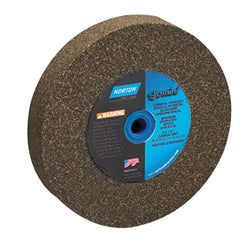 Norton Gemini Alundum Bench Wheel, 10 in. x 1 in. x 1-1/4 in. 24 Grit, Aluminum Oxide, 2 pk.Liquid error (product-grid-item line 33): comparison of String with 0 failed