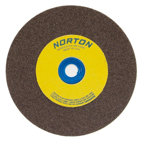 Norton Gemini Bench and Pedestal Wheel 5 in. x 1/2 in. x 1 in. 60 Grit, Aluminum Oxide, 5 pk.