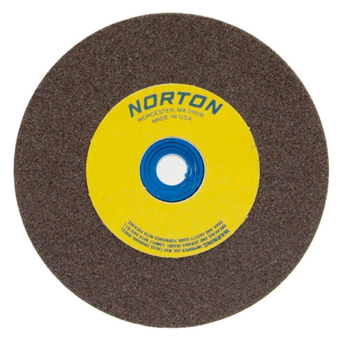 Norton Gemini Bench and Pedestal Wheel 5 in. x 1 in. x 1 in. 60 Grit, Aluminum Oxide, 5 pk.