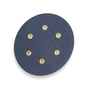 Norton Hook-and-Loop Disc Backup Pad, 6 Hole, 5 pk.