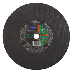 Norton Masonry Cut-Off Wheel, 14 in. x 1/8 in. x 1 in. 5 pk.Liquid error (product-grid-item line 33): comparison of String with 0 failed